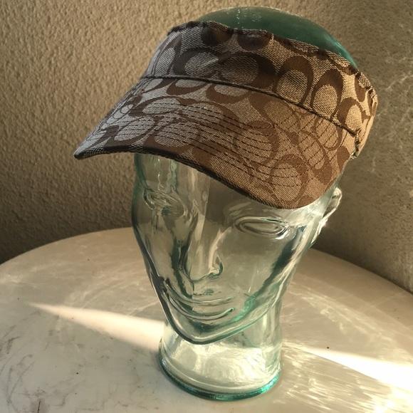 84c89dbabb5 Coach Accessories - Coach sun visor hat